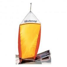 """Ventilador Amarelo de Camarote de Vela """"Windscoop"""" - Davis"""