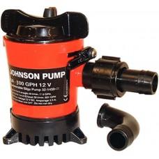 Bomba de Porão Compacta - 500 GPH - Johnson Pump