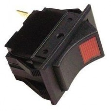 Interruptor Basculante - ON (Vermelho) / OFF - 3 Terminais - Seachoice