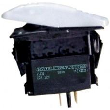 Interruptor Basculante Contura - Branco - 2 Terminais - Seachoice