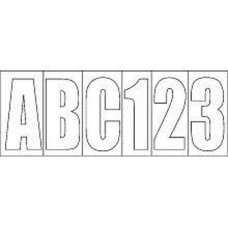 Conjunto de 148 Letras/Números - Em Branco - Seachoice