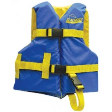 Colete Salva-vidas - Azul/Amarelo - Criança - Seachoice