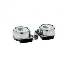 Buzina Compacta Aço Inox 108 Db -  Seachoice