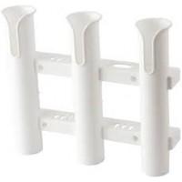 Suporte 3 Canas Plástico - Branco - Sea-Dog Line