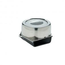 Buzina Compacta Aço Inox 105 Db - Seachoice