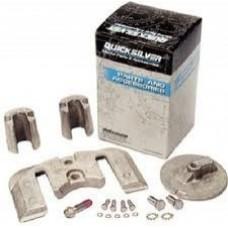 Kit de Ânodos em alumínio para coluna Bravo II - Mercruiser / QuiskSilver